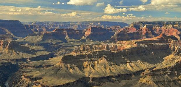 I 10 trekking pi belli del mondo for Grand canyon north rim mappa della cabina
