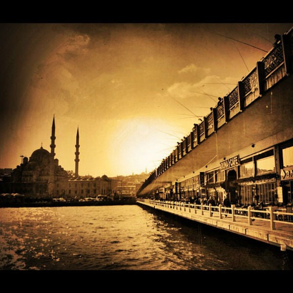 Ponte de Gálata, Istambul