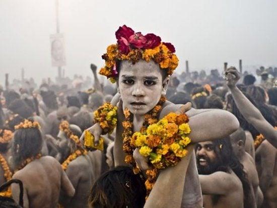 bambino Kumbh Mela