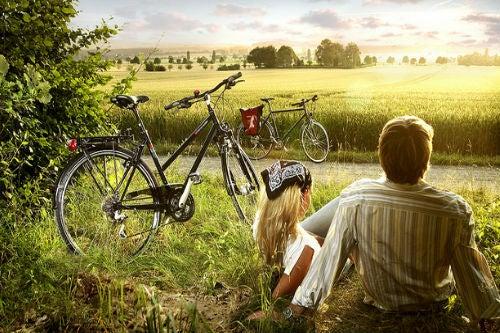 gita bicicletta