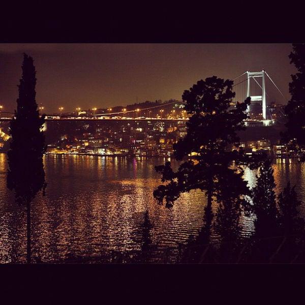 Paisagem nocturna Istambul