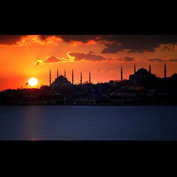 Pôr-do-sol Gálata, Istambul