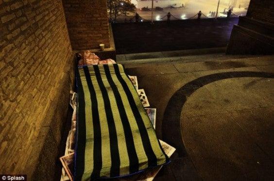 Homeless hotel