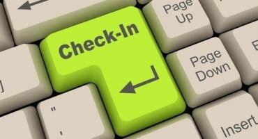 Come funziona il check-in online