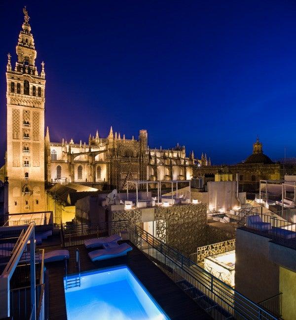 2 la terraza eme catedral hotel siviglia spagna il - Terraza hotel eme ...