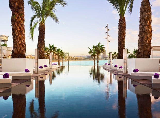 Terrazza W Hotel Barcellona