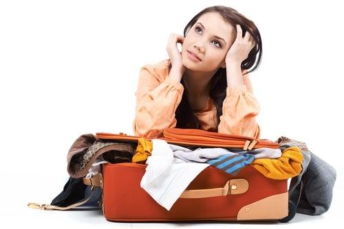 Difficile chiusura di un bagaglio a mano