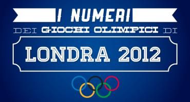Tutti i numeri delle Olimpiadi di Londra 2012