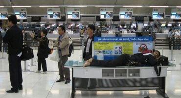 Dormire in aeroporto: come e dove?