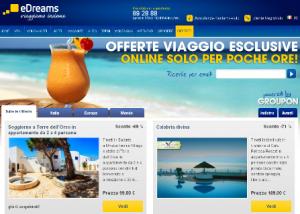 Offerte di viaggio Groupon su eDreams