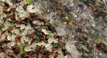 Le spiagge di vetro