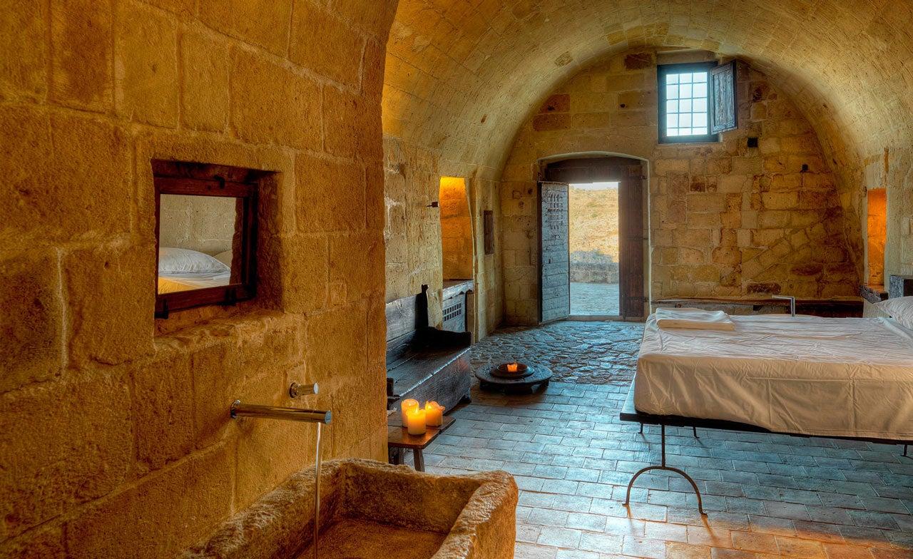 Hotel nelle grotte