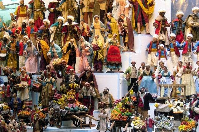 Personaggi presepe San Gregorio Armeno