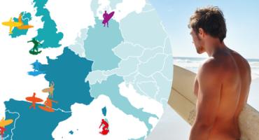 Le 15 spiagge migliori d'Europa per fare surf