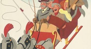 Il fascino vintage dello sci