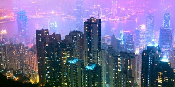 hong-kong città più visitata 2012
