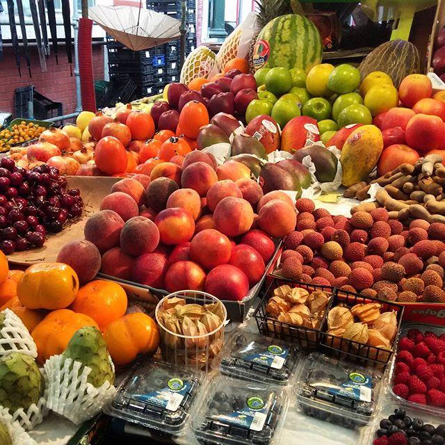 Fruit at Bolhão Market in Porto