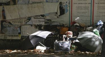 Dormire come i senzatetto: ecco dalla Svezia l'Hotel clochard