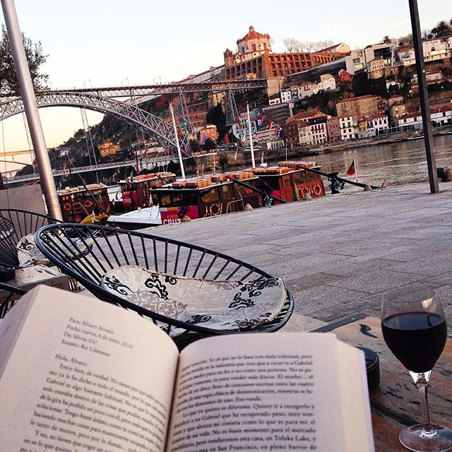 Ribeira district in Porto