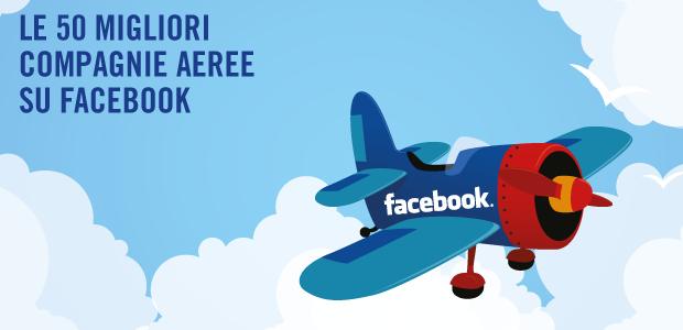 migliori compagnie aeree su facebook