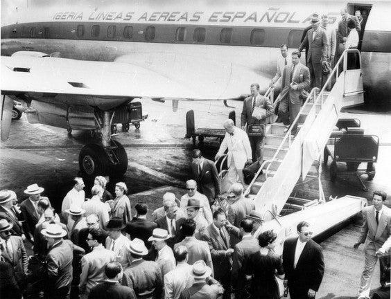 Foto storica Iberia