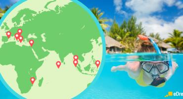 I 20 migliori luoghi del mondo per lo snorkeling