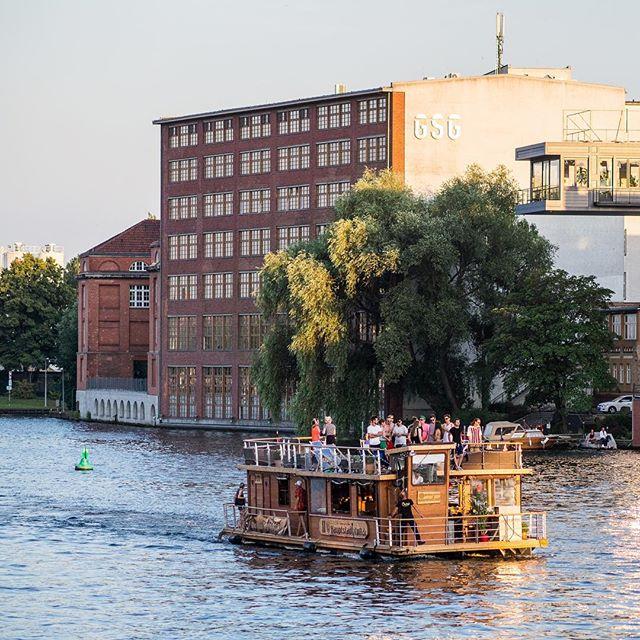 crociera sul fiume di Berlino