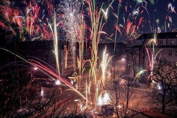 berlino fuochi d'artificio capodanno