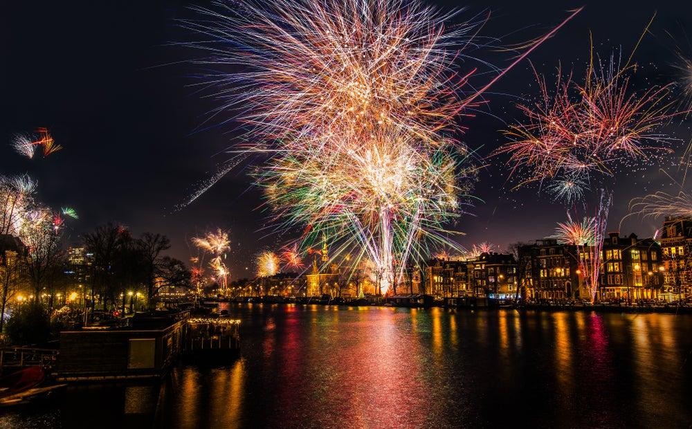 fuochi d'artificio amsterdam