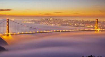 Le foto più spettacolari delle città avvolte dalla nebbia