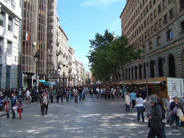 Portal del Angel Barcellona