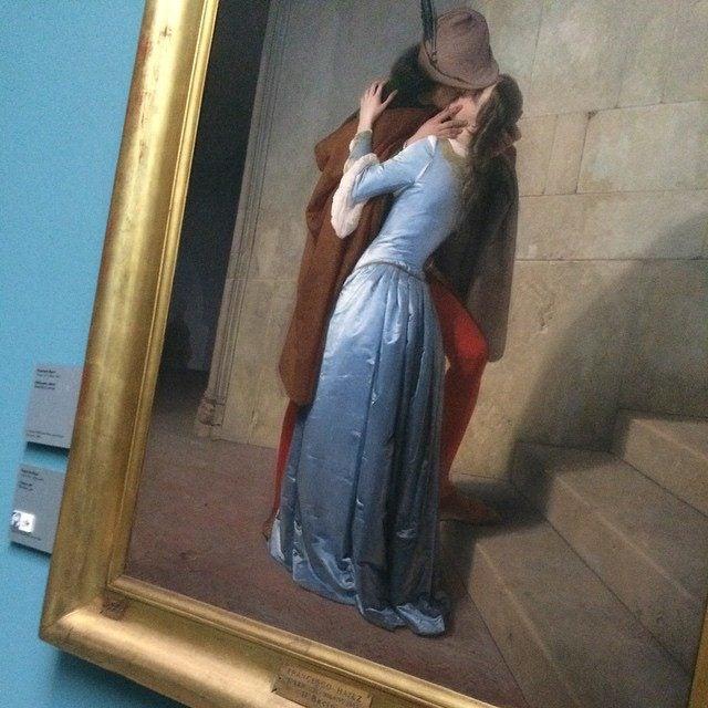 bacio di Hayez alla pinacoteca di Brera