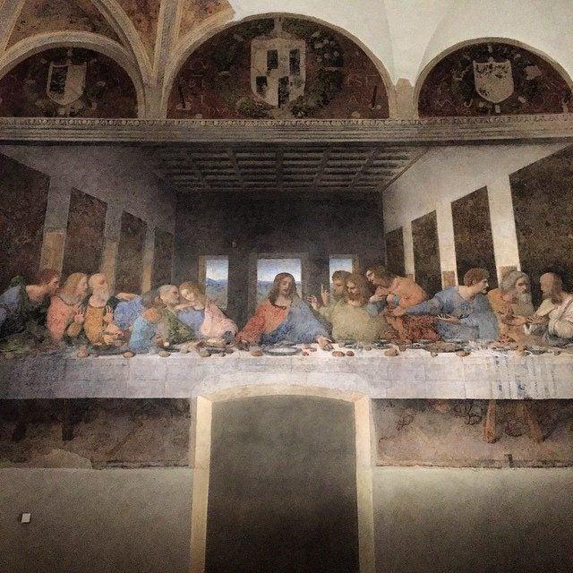 Cenacolo vinciano nel refettorio di Santa Maria delle Grazie
