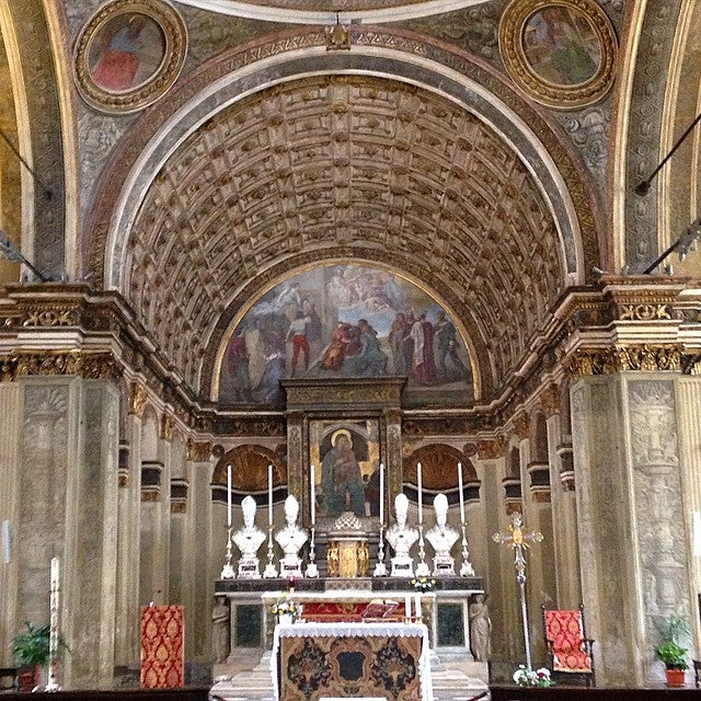 Eglise de San Satiro Milan