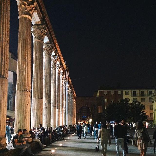 colonne San Lorenzo, Milano