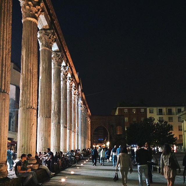 colonnes de san lorenzo