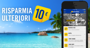 Prenotate voli scontati con la app per iPhone di eDreams!