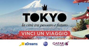 Vola a Tokyo gratis con il nostro concorso