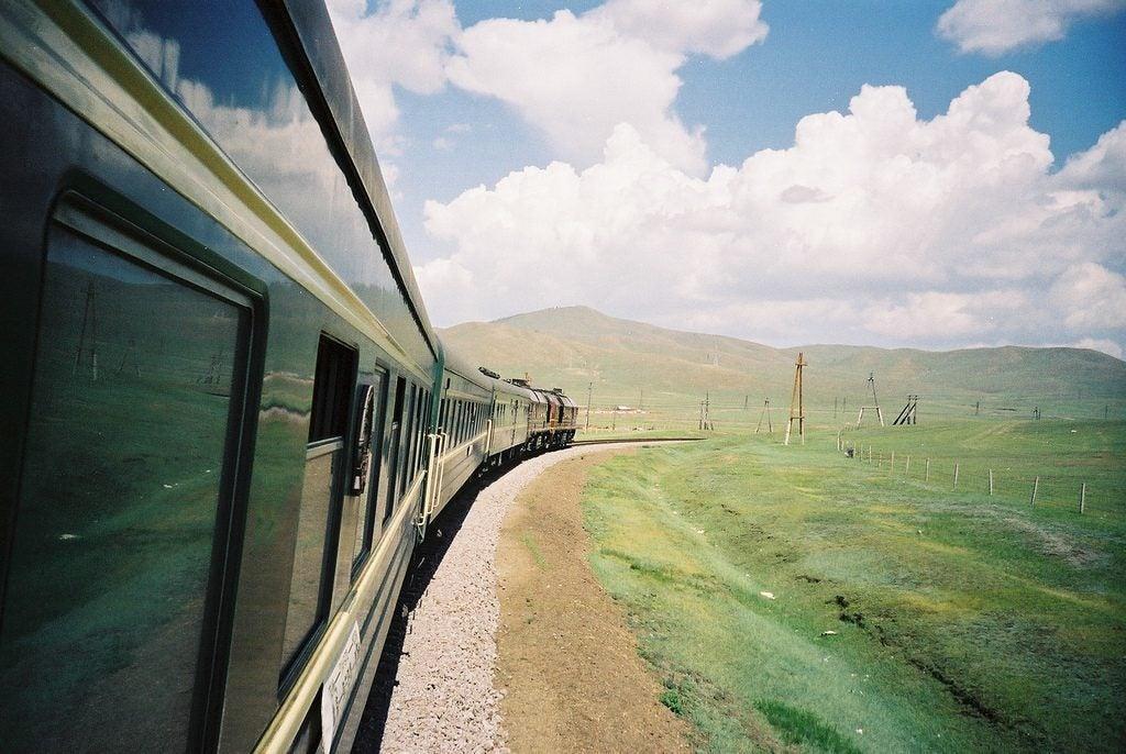 Treno della Transiberiana, Russia