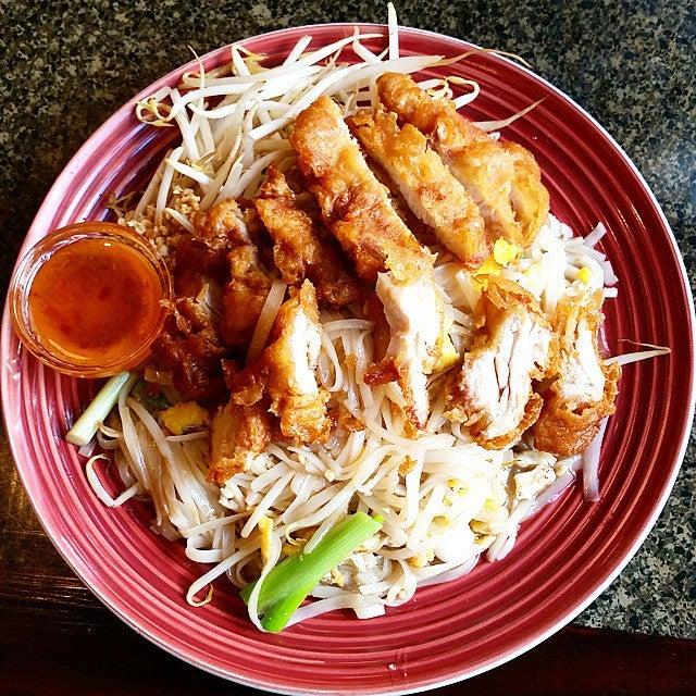 pad thai pollo