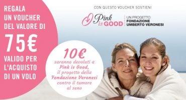 eDreams sostiene la ricerca contro il tumore al seno con Pink is Good