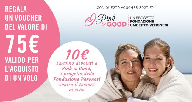 pink is good campagna eDreams