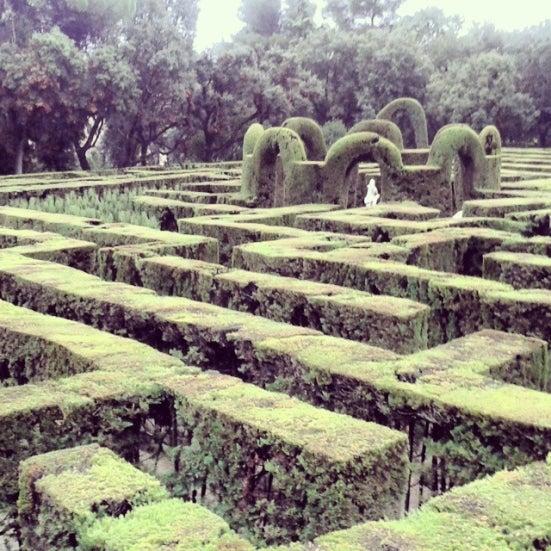 labirinto Horta cosa fare a barcellona edreams blog viaggi
