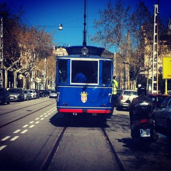 tram tibidabo