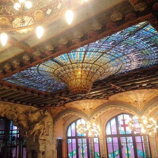 palau de la musica catalana cosa fare a barcellona edreams blog viaggi