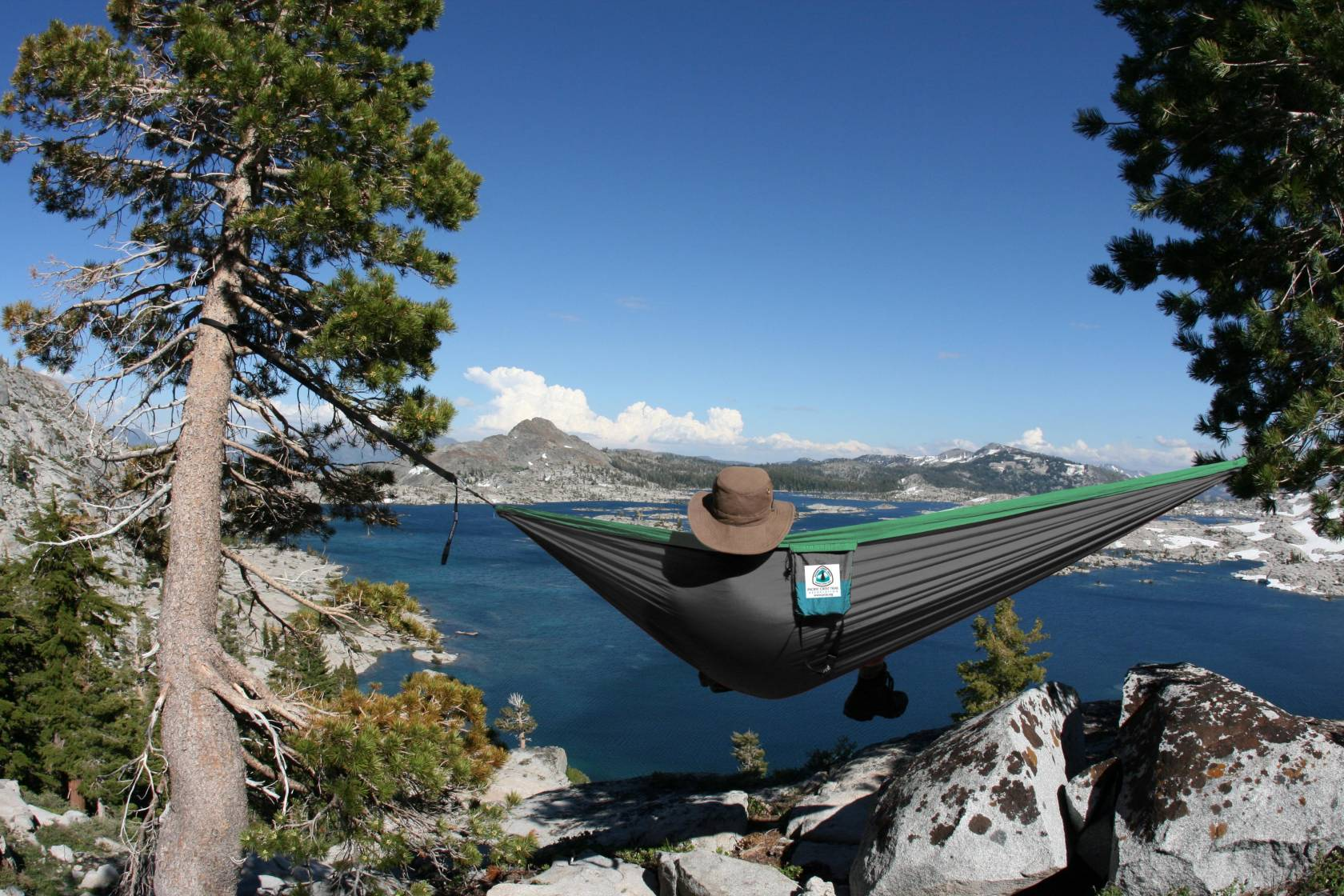 Relax on your next holiday while in this hammock.