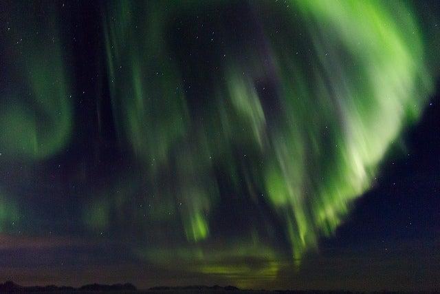 Auroras boreales: cuándo y dónde verlas. aurora boreal en dinamarca