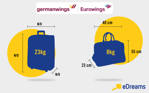 germanwings eurowings bagaglio