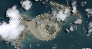 Nell'Oceano Pacifico è nata una nuova isola