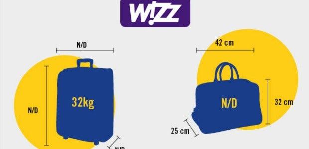 Il bagaglio con Wizz Air: le regole da seguire